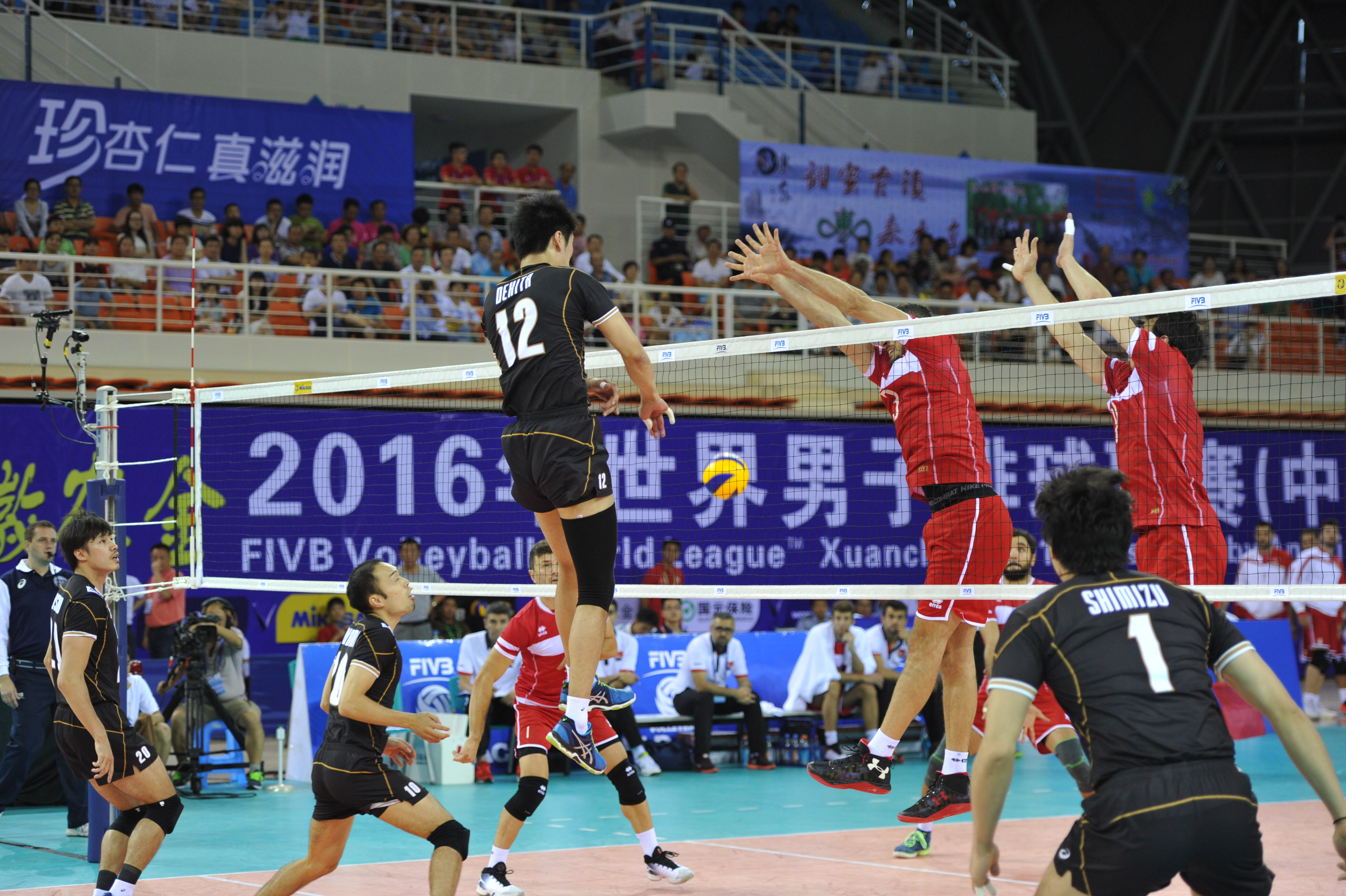 Overview Japan Fivb Volleyball World League 2016